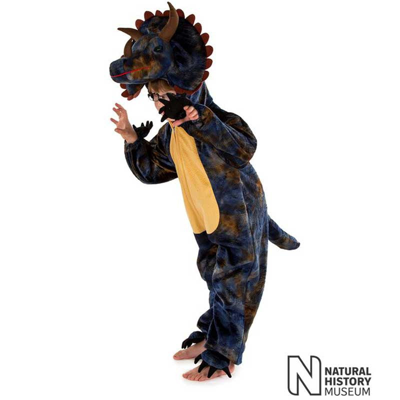 Official Natural History Museum Triceratops Costume , Children's Costume - National History Museum, Ayshea Elliott  - 1