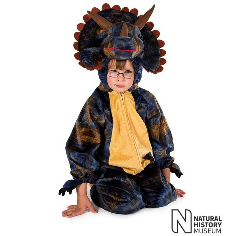 Official Natural History Museum Triceratops Costume , Children's Costume - National History Museum, Ayshea Elliott  - 2