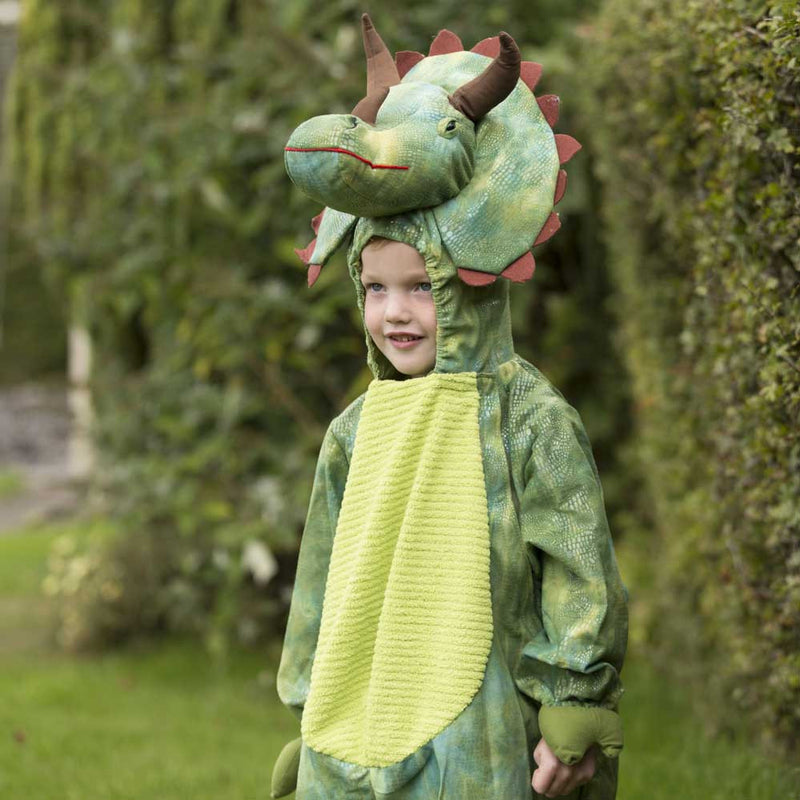 Children's Triceratops Dress Up , Dinosaur Costume, Children's Costume - Time to Dress Up, Ayshea Elliott - 7