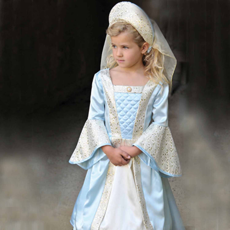 Children's Blue Shimmer Princess Dress