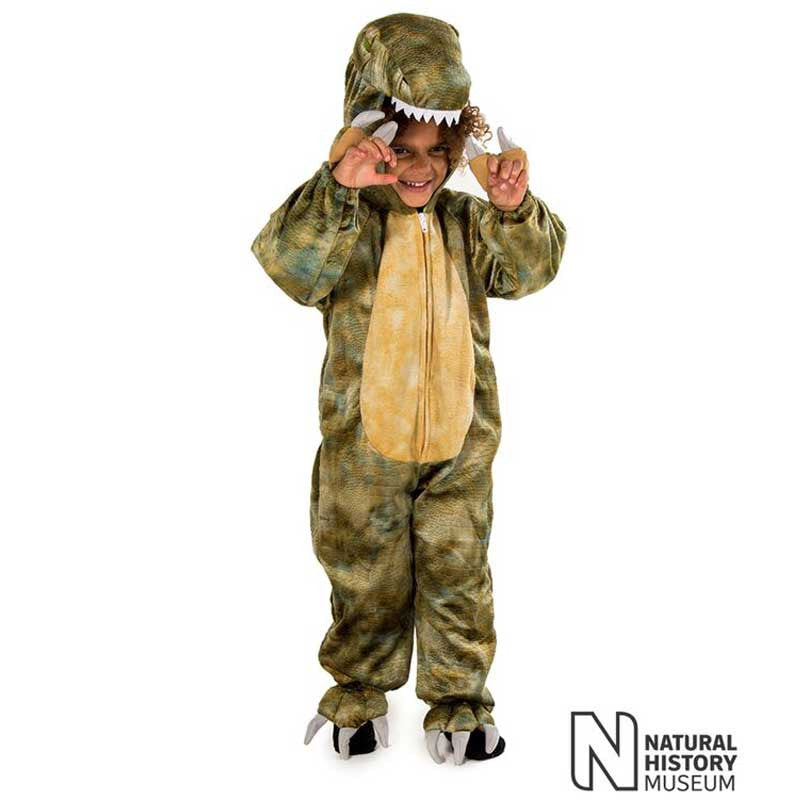 Official Natural History Museum Tyrannosaurus Rex Costume , Children's Costume - National History Museum, Ayshea Elliott - 1