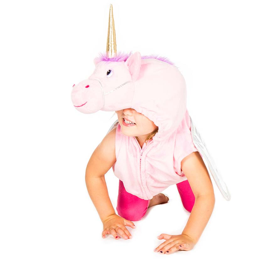 Children's Unicorn Zip Top, Children's Costume-Pretend to Bee