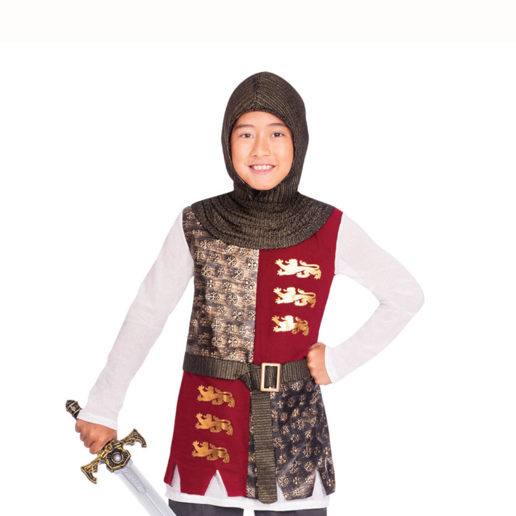 Valiant Knight Costume and Sword
