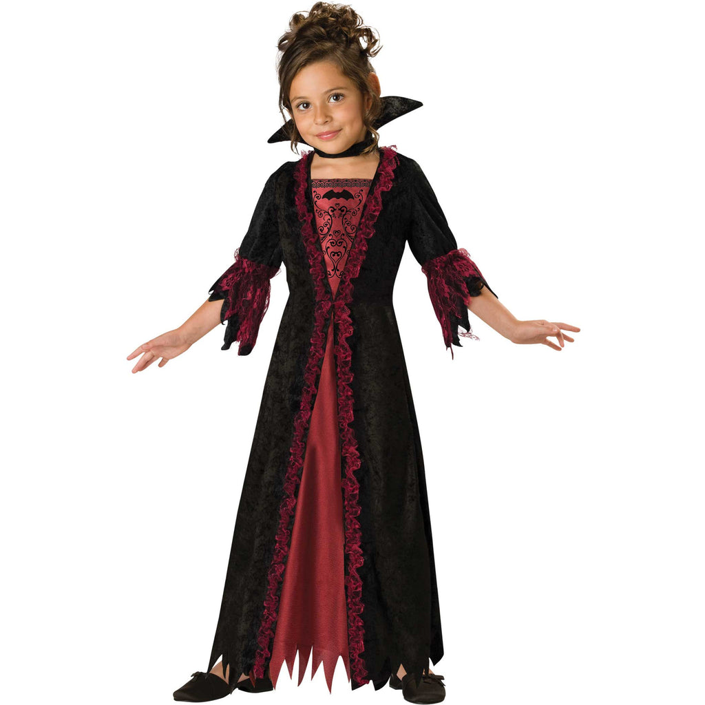 Children's Vampire Girl Dress Up , Children's Costume - In Character, Ayshea Elliott