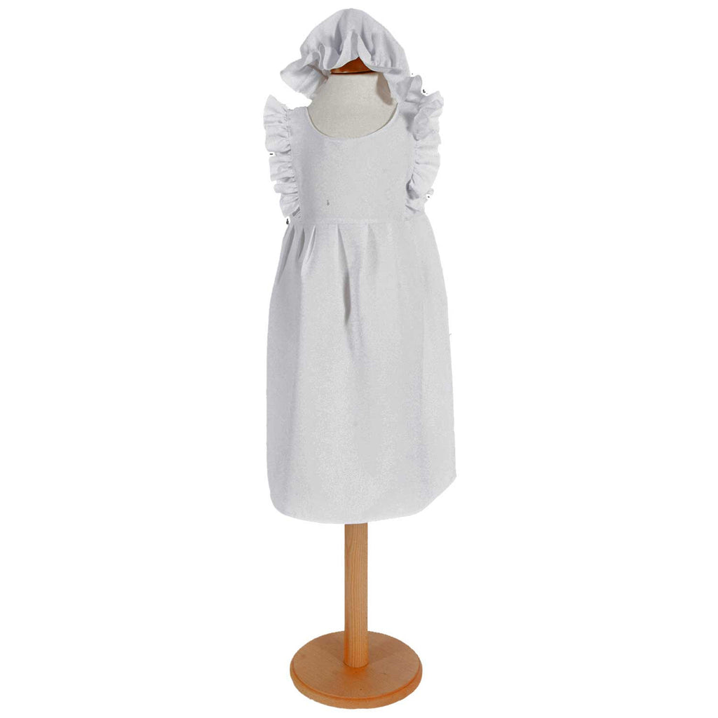 Children's Victorian Apron and Mop Cap , Children's Costume - Pretend to Bee, Ayshea Elliott