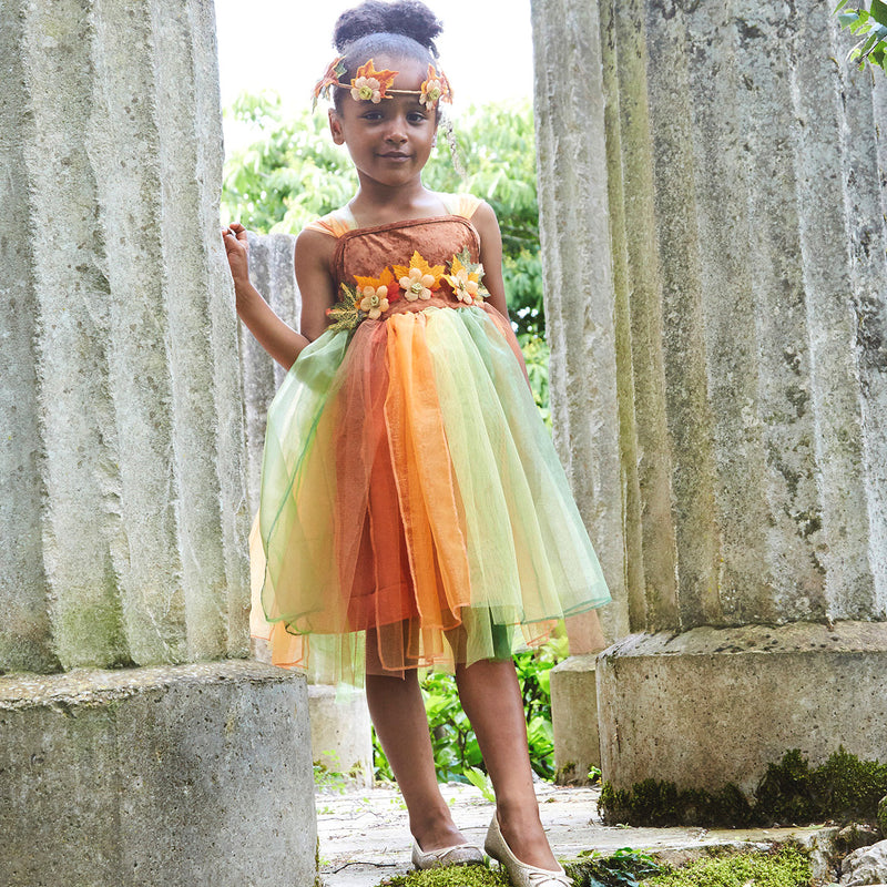 Children's Woodland Fairy Dress With Headband