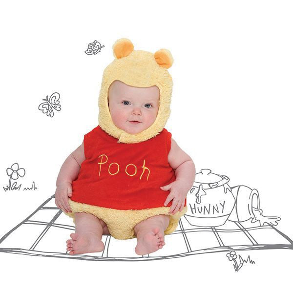 Winnie the Pooh Baby Fancy Dress Costume - Official Disney , Baby Costume - Disney Baby, Ayshea Elliott  - 1