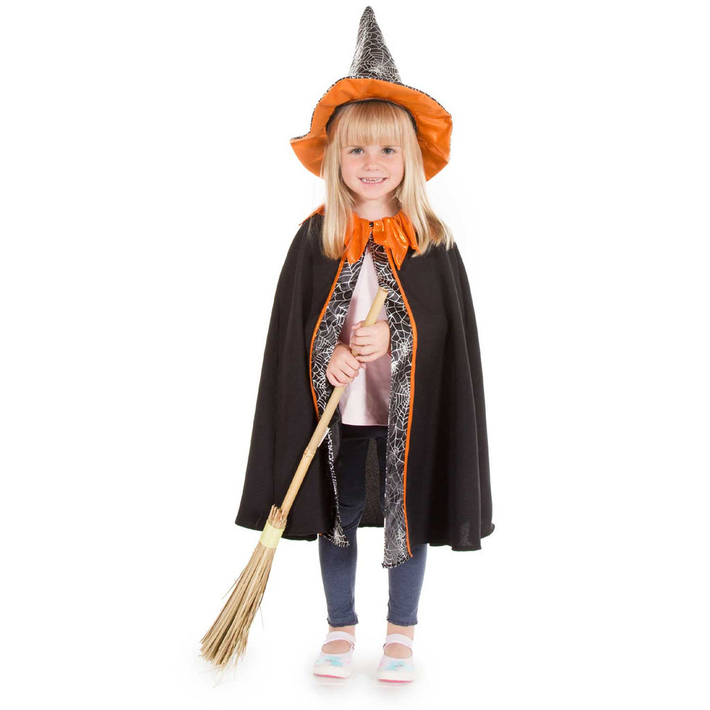 Children's Witch Cape and Hat – Time to Dress Up