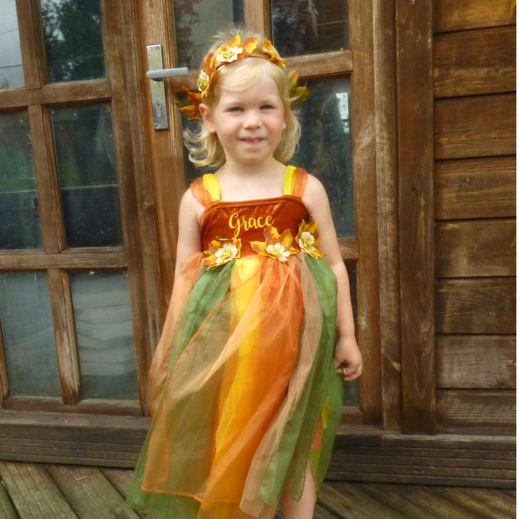 Woodland Fairy Dress personalised_Time to Dress Up