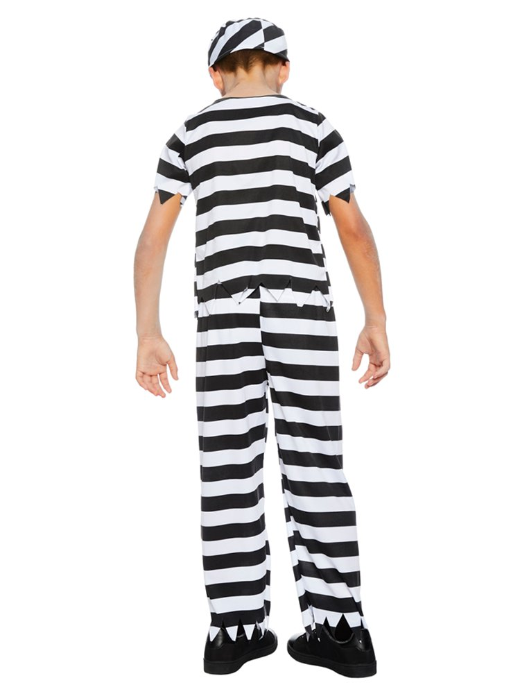 Zombie Convict Children's  Costume