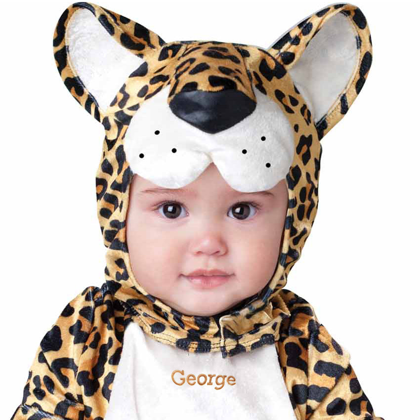 Leopard Baby Fancy Dress Costume- Personalised