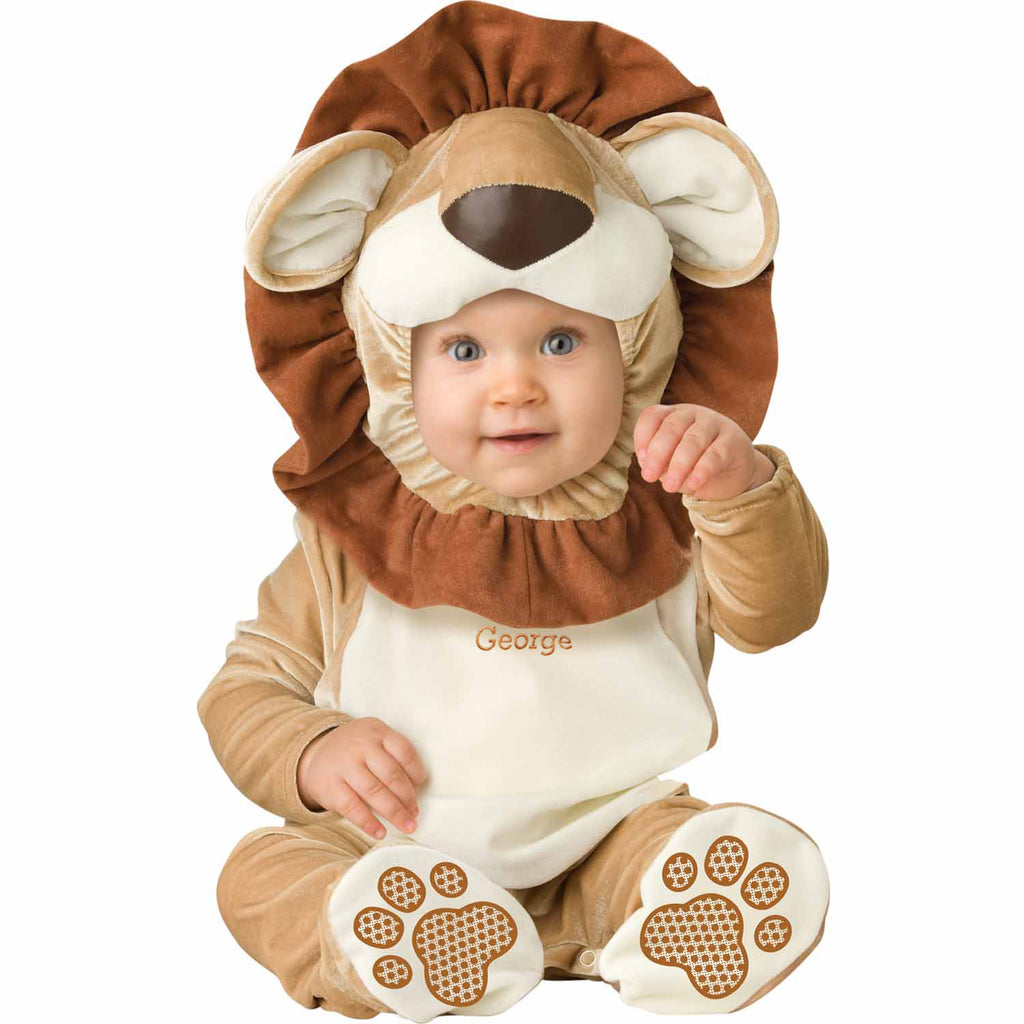 Personalised Baby Lion Costume - Lovable Lion- Baby Gift-Time to Dress Up