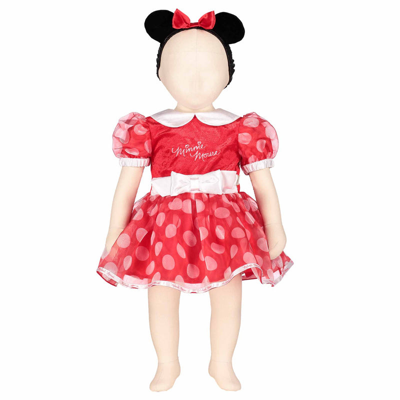 Minnie Mouse Baby Fancy Dress Costume - Official Disney , Baby Costume - Disney Baby, Ayshea Elliott  - 3