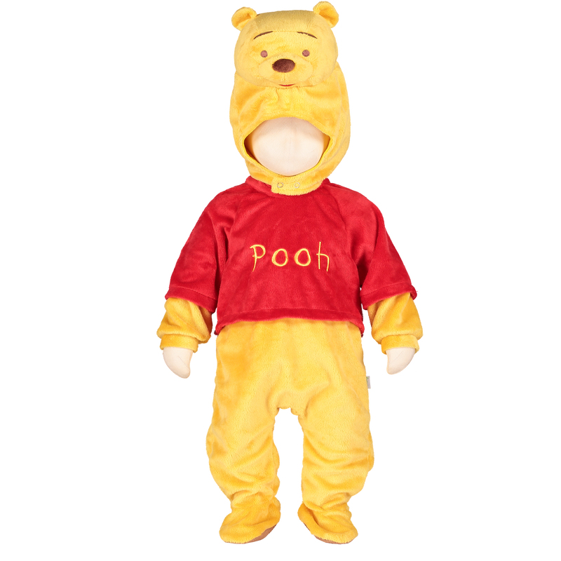 Winnie the Pooh Baby Costume with Moulded Hood , Baby Costume - Disney Baby, Ayshea Elliott  - 4