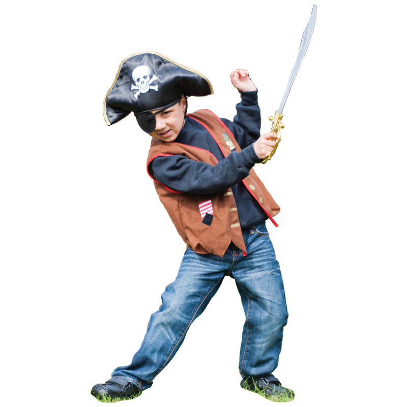 Kids Pirate Costume , Children's Costume - Time to Dress Up -1