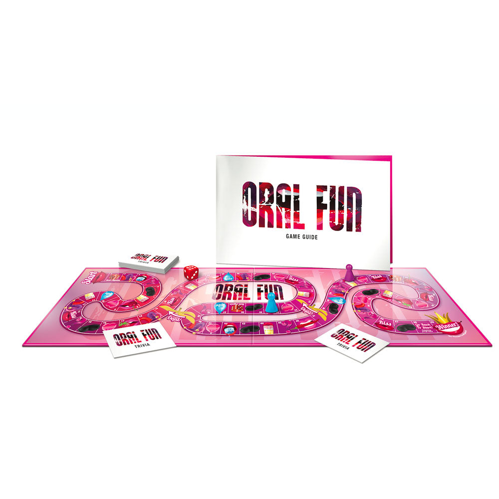 Oral Fun Board Game - Dressed 2 Digress Ltd