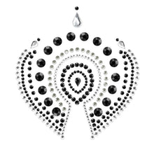 Load image into Gallery viewer, Bijoux Indscrets Flamboyant Body Jewelery Black And Silver