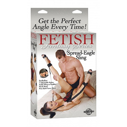 Fetish Fantasy Series Spread Eagle Sling - Dressed 2 Digress Limited