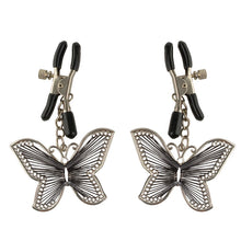 Load image into Gallery viewer, Fetish Fantasy Series  Butterfly Nipple Clamps - Dressed 2 Digress Limited