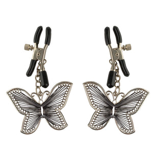 Fetish Fantasy Series  Butterfly Nipple Clamps - Dressed 2 Digress Limited