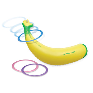 Inflatable Banana Ring Toss - Dressed 2 Digress Limited