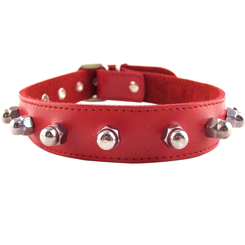 Rouge Garments Red Nut Collar - Dressed 2 Digress Limited