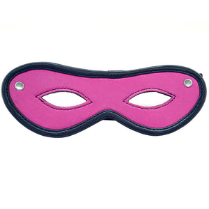 Rouge Garments Open Eye Mask Pink - Dressed 2 Digress Limited