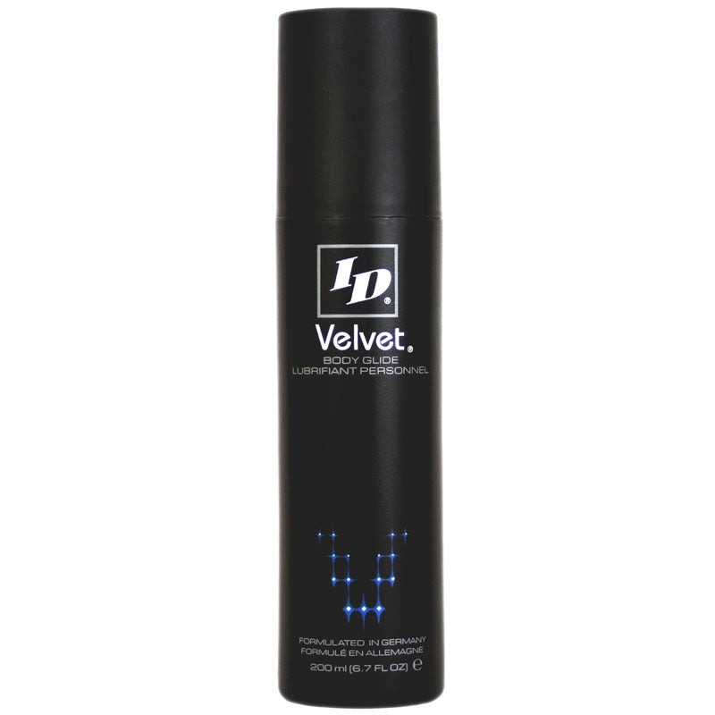 ID Velvet 6.7oz Lubricant - Dressed 2 Digress Ltd