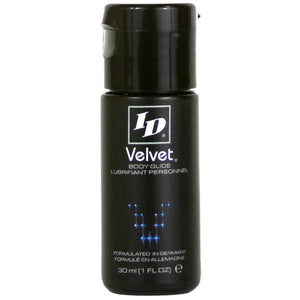 ID Velvet 1oz Lubricant - Dressed 2 Digress Limited