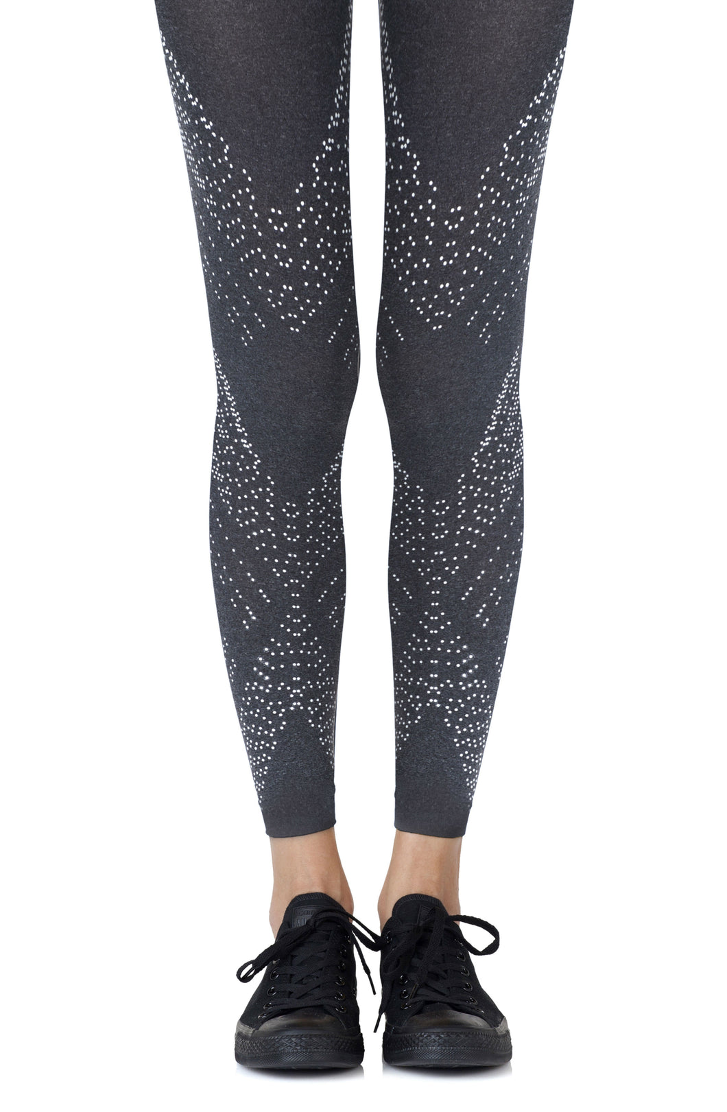 ZOHARA C2HGGR Heather Leggings - Dressed 2 Digress Limited
