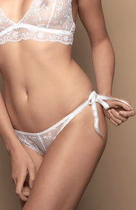 Confidante Heaven  Thong White - Dressed 2 Digress Limited