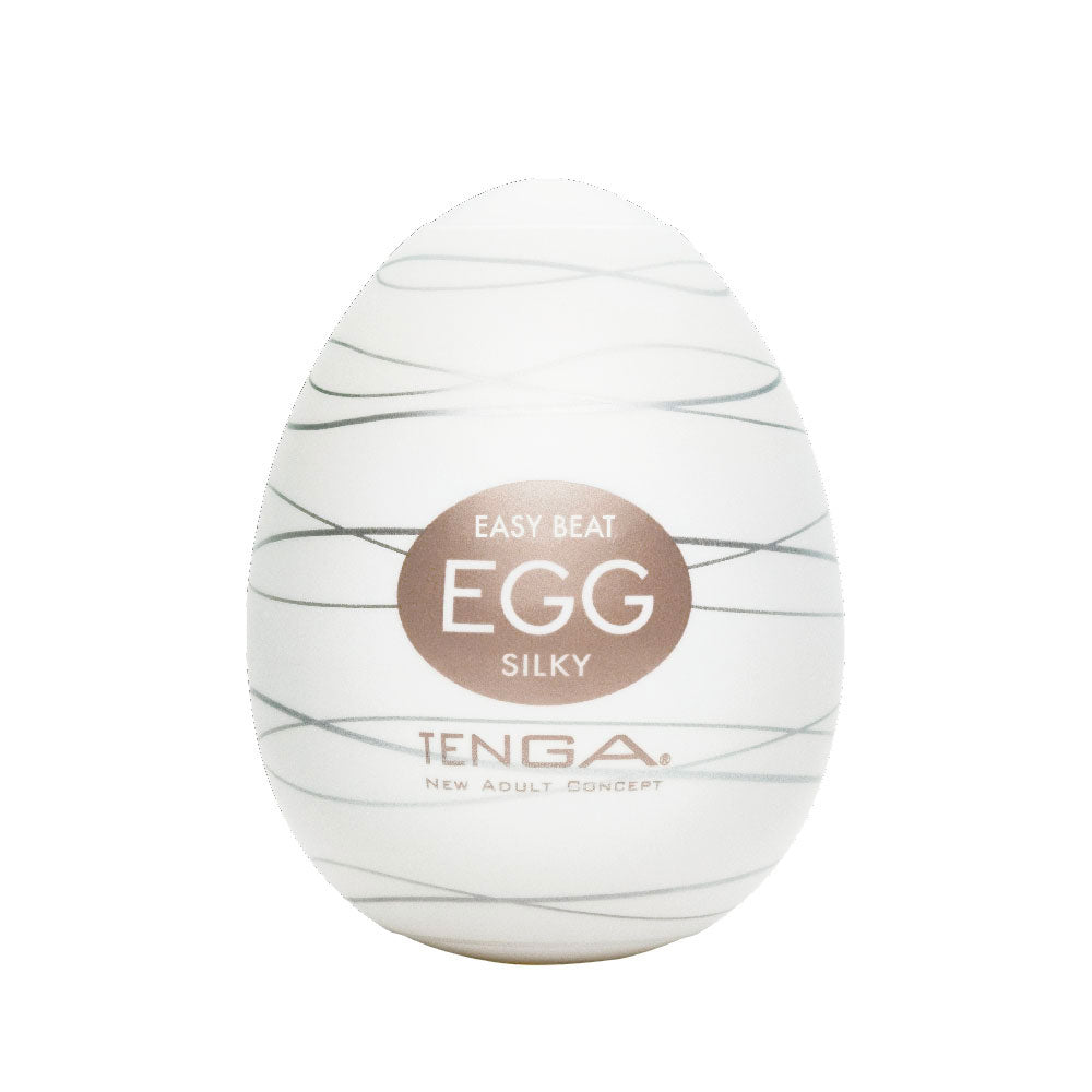 Tenga Silky Egg Masturbator - Dressed 2 Digress Limited
