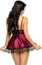 Load image into Gallery viewer, Beauty Night Eve Chemise BN6545 Purple - Dressed 2 Digress Limited