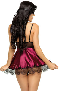 Beauty Night Eve Chemise BN6545 Purple - Dressed 2 Digress Limited
