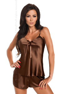 Irall Aria Shorts Set Chocolate - Dressed 2 Digress Limited