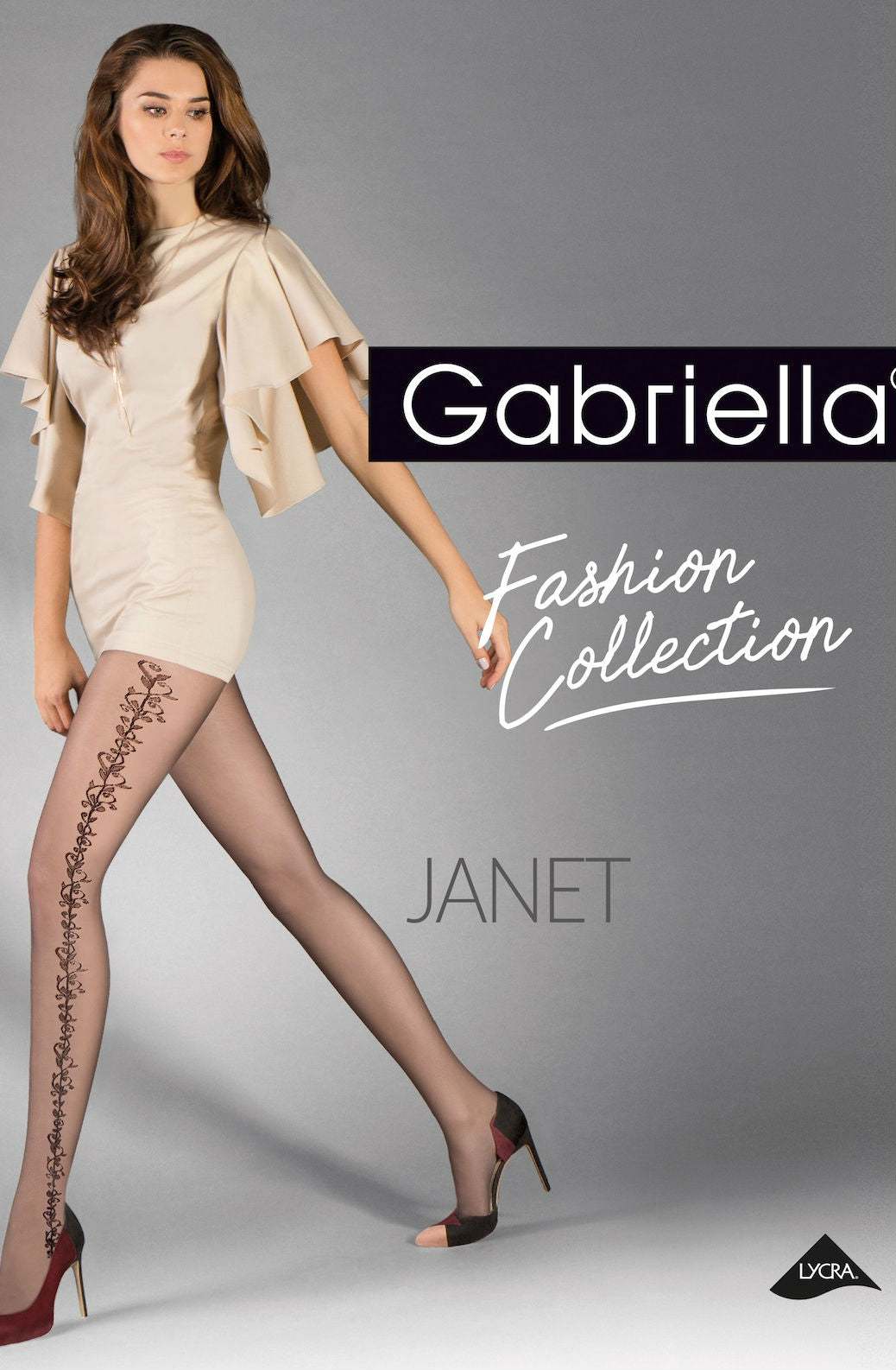 Gabriella Janet Tights 383 Black - Dressed 2 Digress Limited