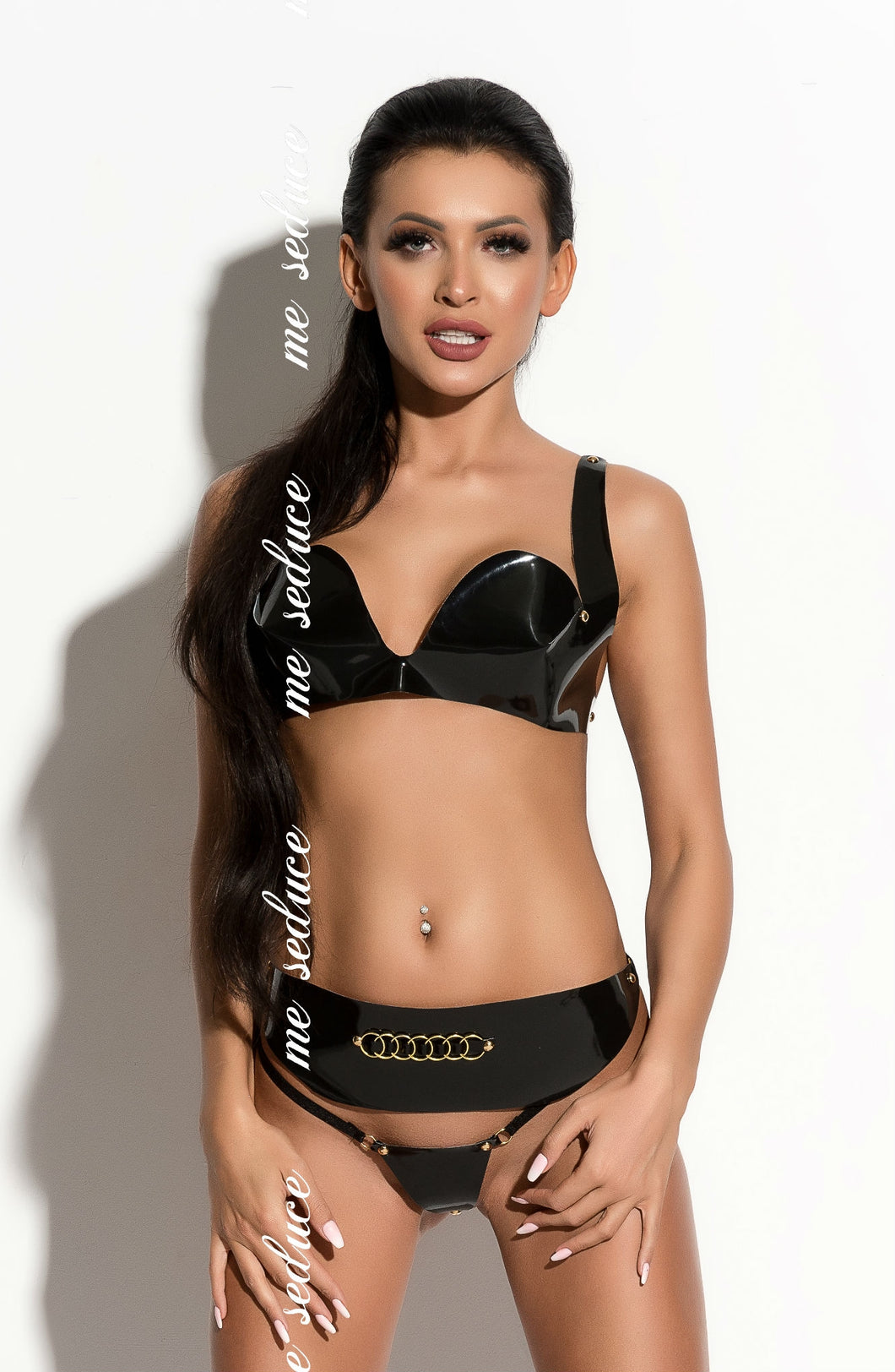 Me Seduce Arielle Bra Set Black