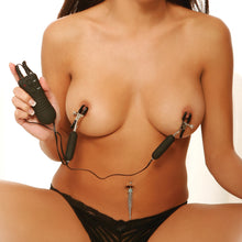 Load image into Gallery viewer, Fetish Fantasy Series Vibrating Nipple Clamps