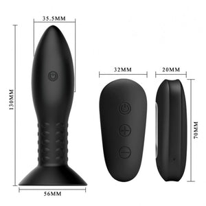 Mr Play Rotation Beads Anal Plug - Dressed 2 Digress Limited