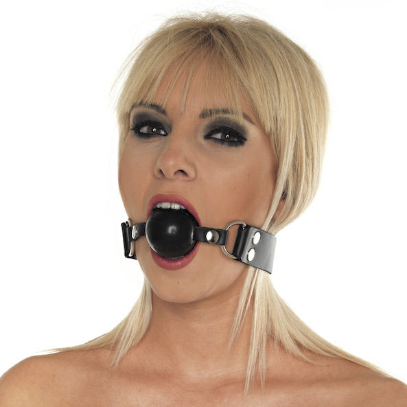 Silicone Ball Gag - Dressed 2 Digress Ltd