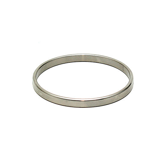 Thin Metal 0.4cm Wide Cock Ring - Dressed 2 Digress Limited