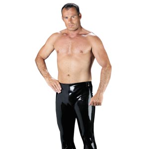 Rubber Secrets Trousers for Men - Dressed 2 Digress Limited