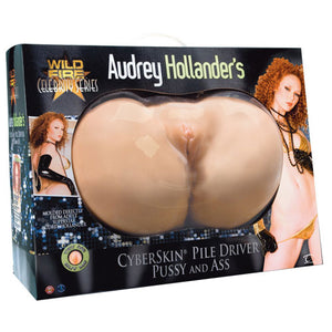 Audrey Hollanders CyberSkin Pile Driver Pussy And Ass - Dressed 2 Digress Limited