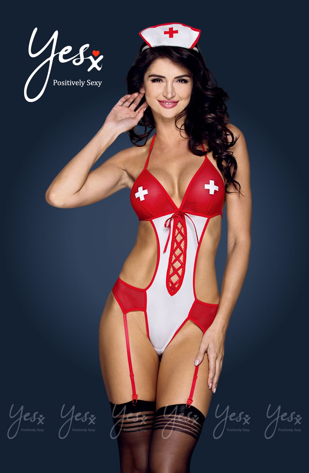 Yesx YX171 3pc Nurse Costume Set - Dressed 2 Digress Limited