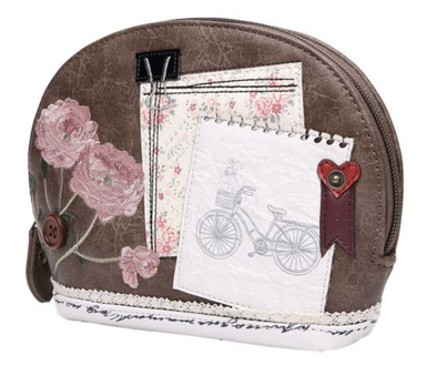 Vendula Vintage Stationary Cosmetic Bag