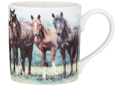 Beauty of Horses Mug - In The Pasture