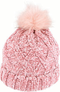 Chenille Chunky Knit Beanie - Musk