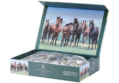 Beauty Of Horses 500 Pc Jigsaw Puzzle