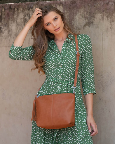 Daisy Tan Crossbody Bag
