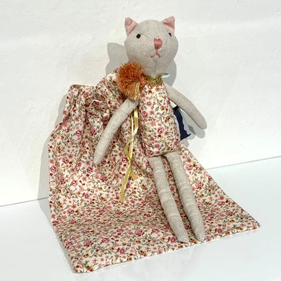 Kitty Cat Rattle Rattle In Bag